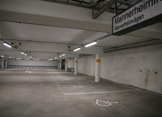 Liikuntaesteisten pysäköintipaika